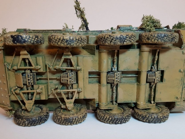 Model of LAV 3/III - Underside - 1/35 Scale - Built By Wright Built - Trumpeter Models