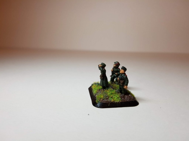 Model of Germans (WW2) - View 2 - 1/100 Scale (15mm) - Built By Wright Built - Battlefront Models (Flames of War)
