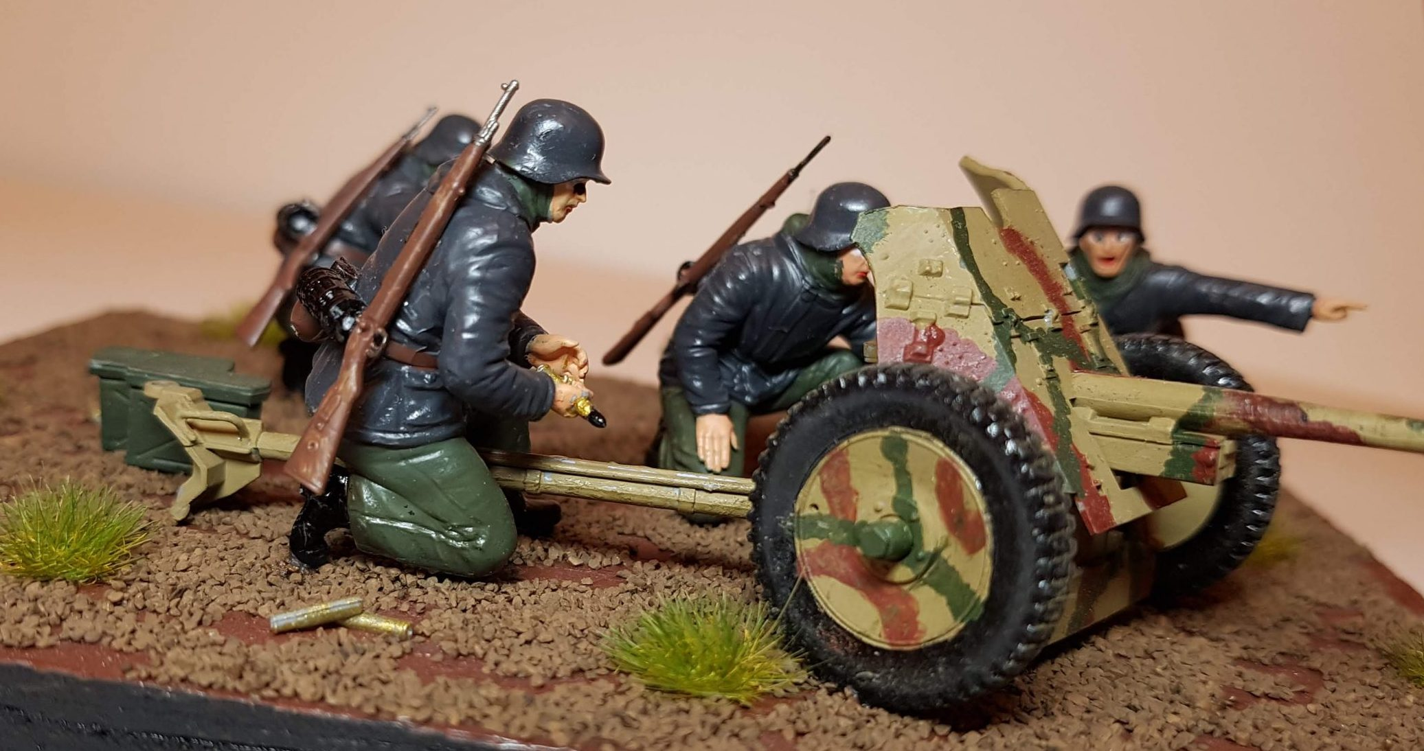 Model of Pak-36 (WW2) - View 3 - 1/35 Scale - Built By Wright Built - ZVEZDA Models