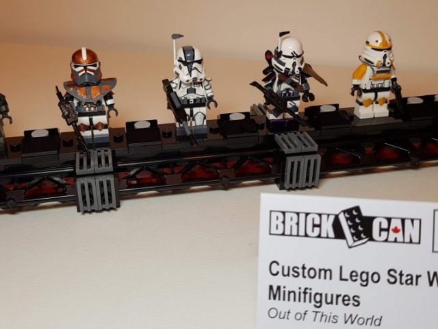 Custom LEGO Clone Troopers - Made by Wright Built - Brickcan 2019