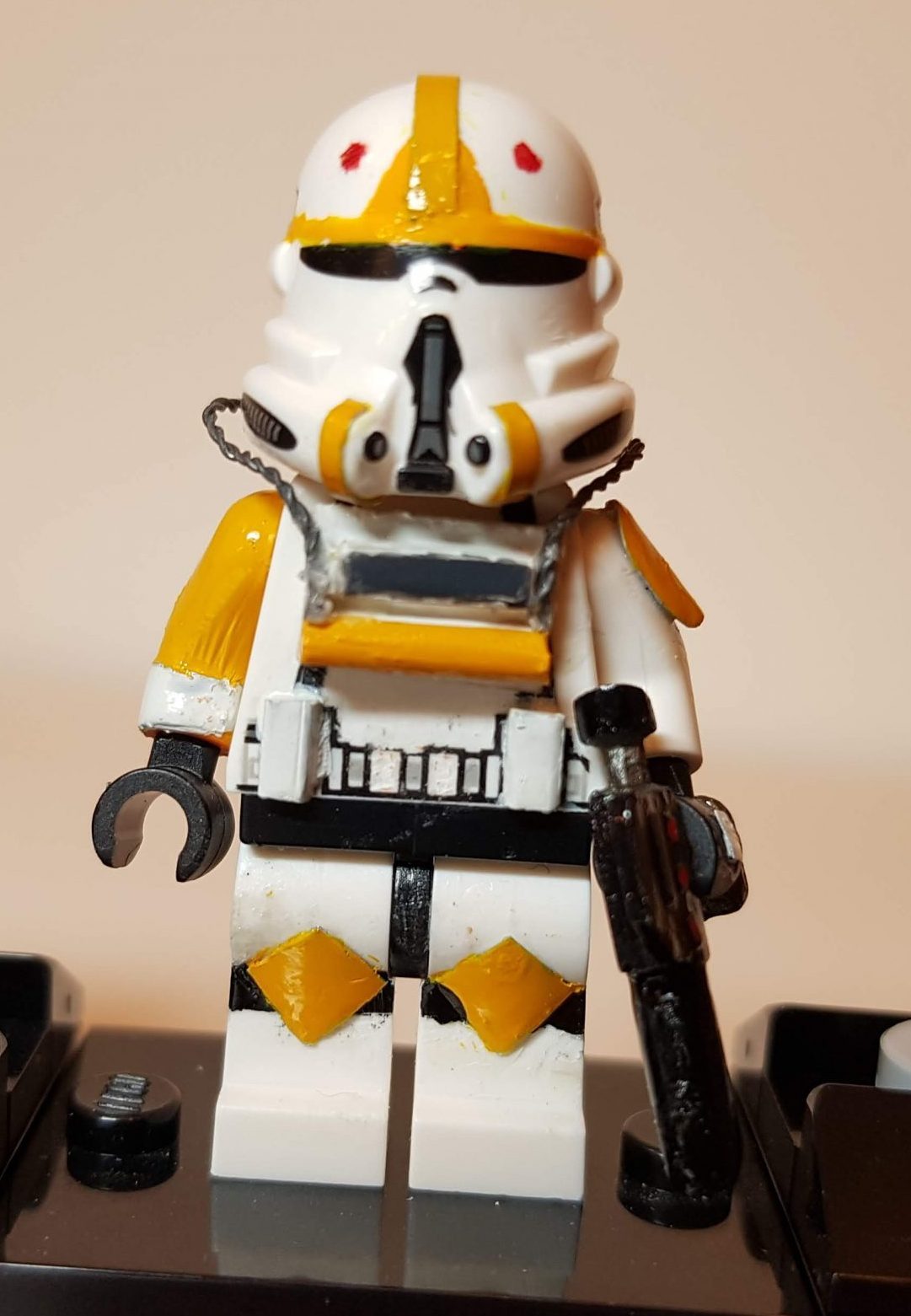 Custom LEGO Clone Troopers - Clone Pilot - Made by Wright Built - Brickcan 2019