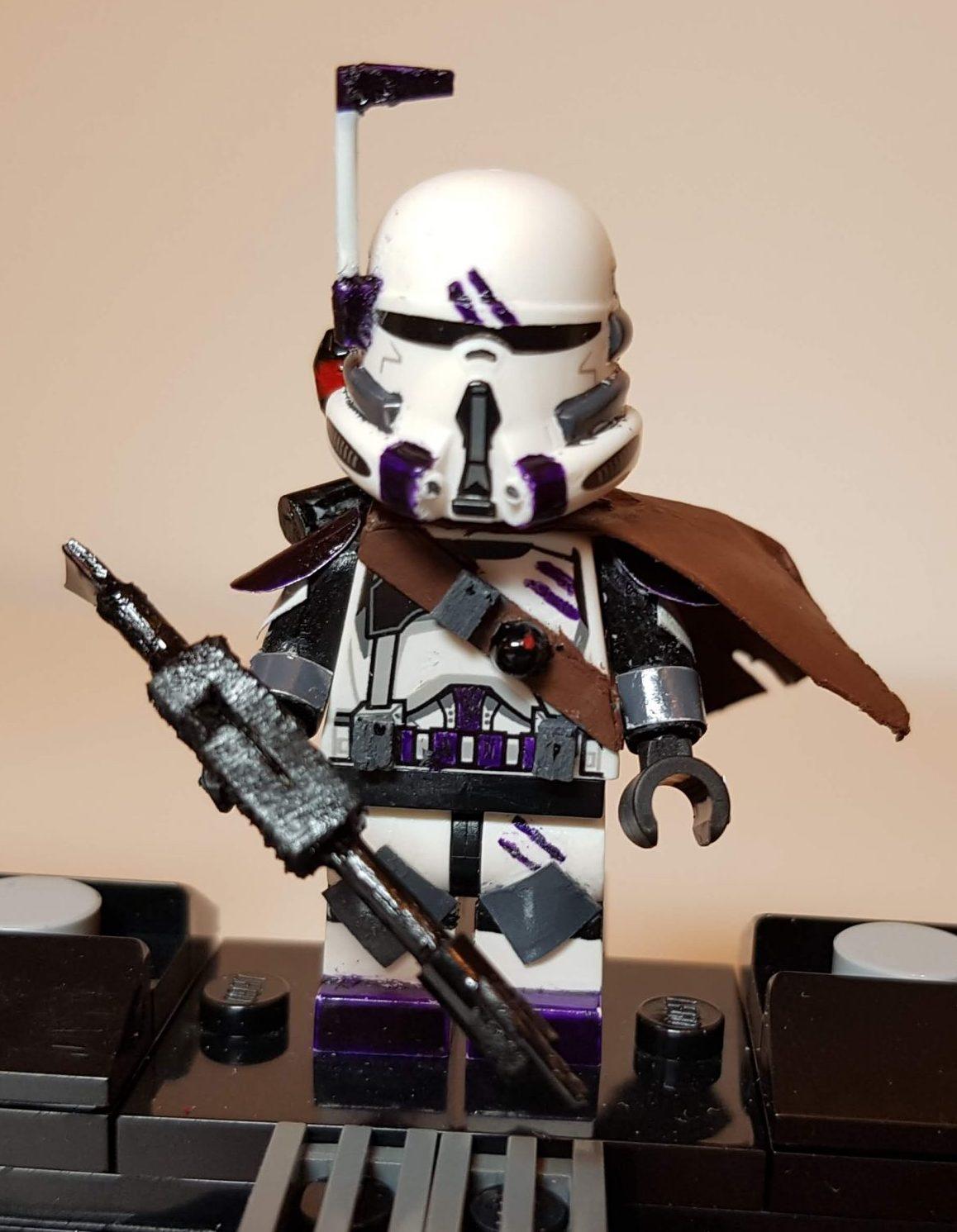 Custom LEGO Clone Troopers - Clone 187th Legion- Made by Wright Built - Brickcan 2019