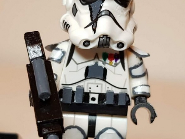 Custom LEGO Clone Troopers - Storm Trooper - Made by Wright Built - Brickcan 2019