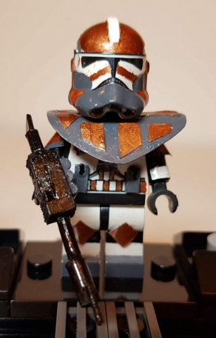 Custom LEGO Clone Troopers - Clone Commando - Made by Wright Built - Brickcan 2019