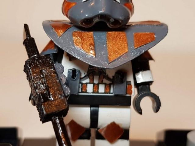 Custom LEGO Clone Troopers - Clone Commando - Made by Wright Built - Brickcan 2019