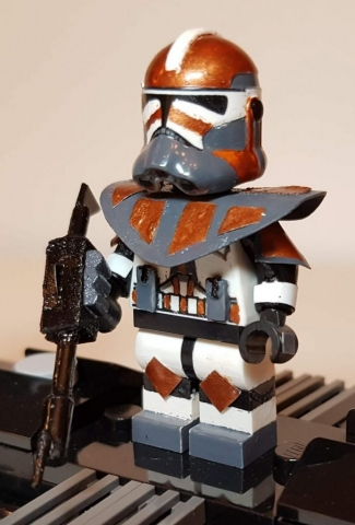Custom LEGO Clone Troopers - Clone Commando 2 - Made by Wright Built - Brickcan 2019