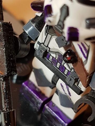 Custom LEGO Clone Troopers - Clone 187th Legion Gear Closeup - Made by Wright Built - Brickcan 2019