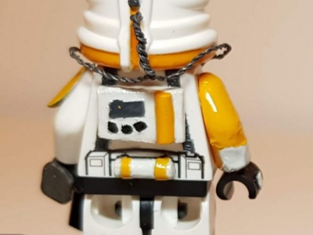 Custom LEGO Clone Troopers - Clone Pilot 2 - Made by Wright Built - Brickcan 2019
