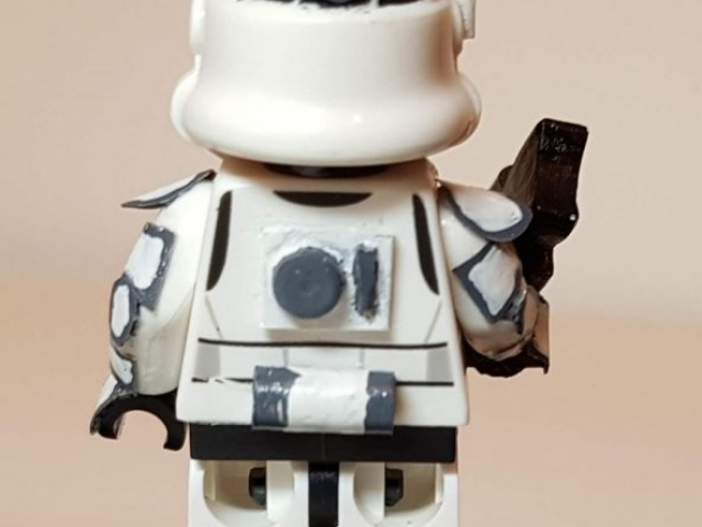 Custom LEGO Clone Troopers - Storm Trooper 3 - Made by Wright Built - Brickcan 2019