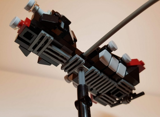 Daedalus IV Assault Ship - LEGO MOC - Underside View - Made by Wright Built - Brickcan 2019