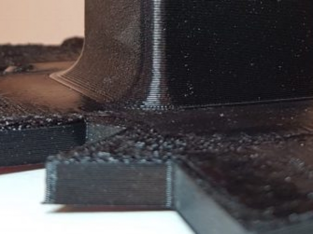 ABS Warping - View 1 - 3D Printed By Wright Built on Prusa Mk2.5s MMU2s - Designed by Wright Built