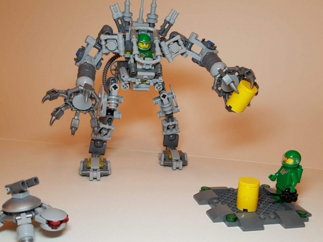 LEGO Ideas Exo Suit (LEGO 21109) - View 1 - Built By Wright Built
