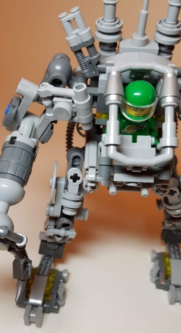 LEGO Ideas Exo Suit (LEGO 21109) - View 2 - Built By Wright Built