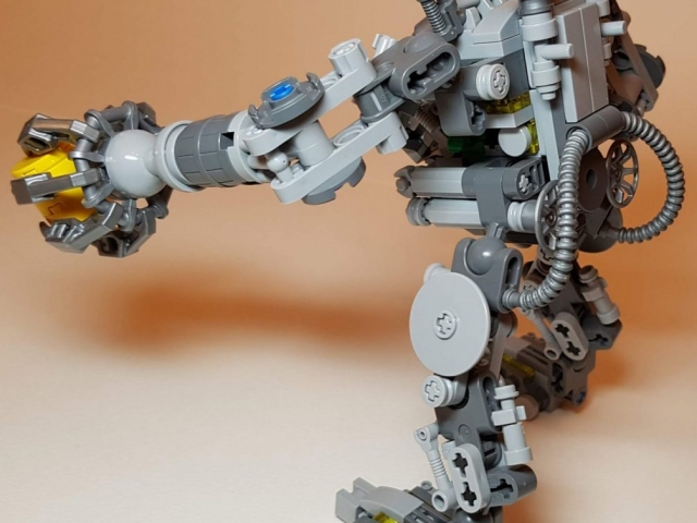 LEGO Ideas Exo Suit (LEGO 21109) - View 3 - Built By Wright Built