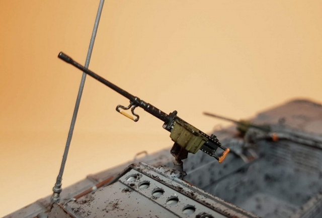 LVT-2 Amtrac (WW2) - View 2 - 1/35 Scale - Built By Wright Built - Italeri