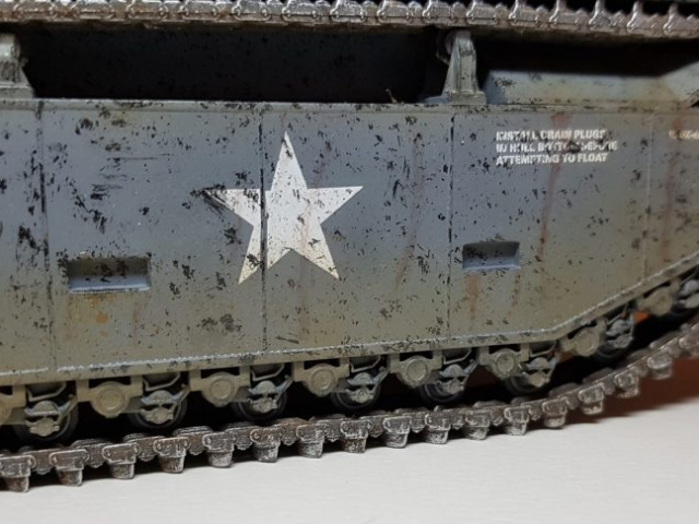 LVT-2 Amtrac (WW2) - View 3 - 1/35 Scale - Built By Wright Built - Italeri