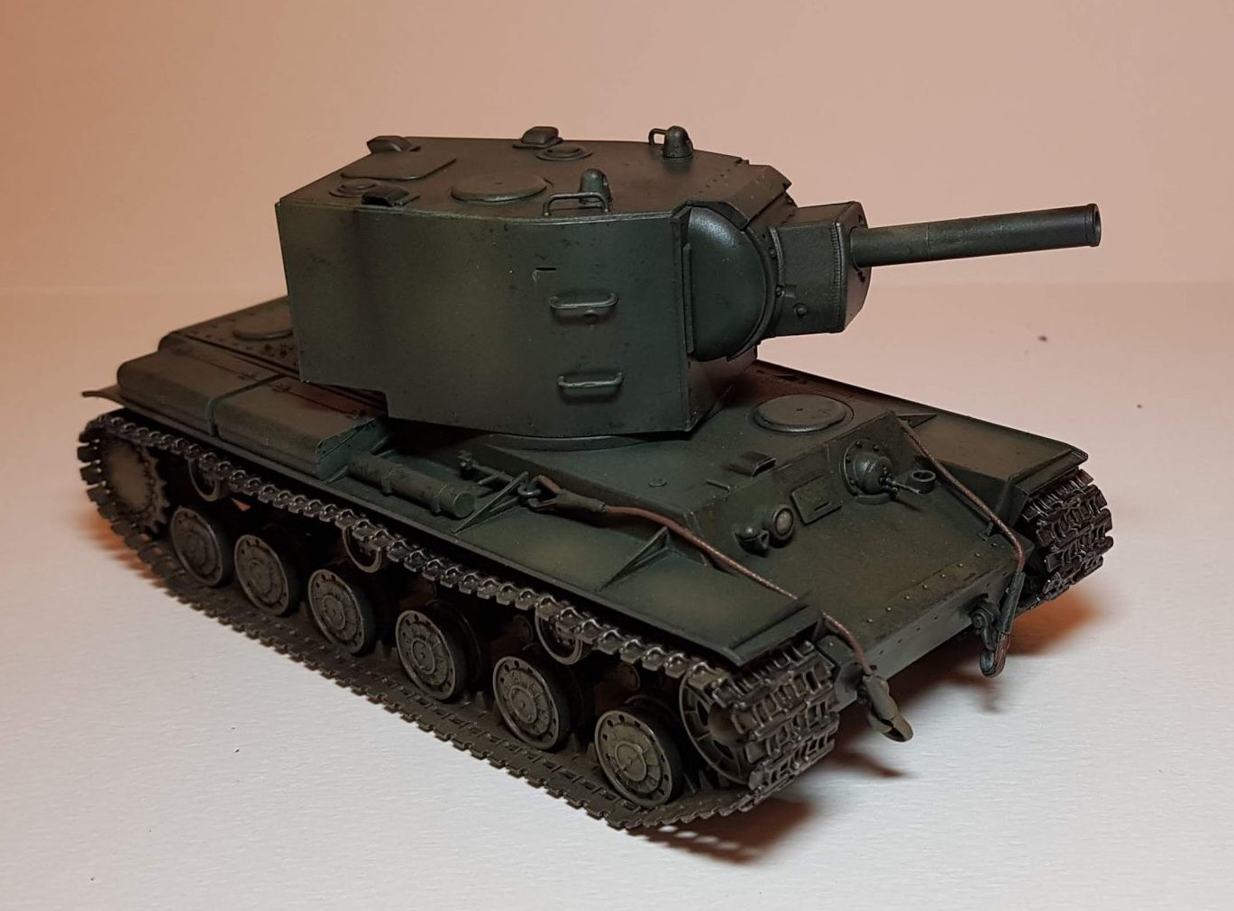 KV-2 (WW2) - View 1 - 1/35 Scale - Built By Wright Built - Tamiya Models