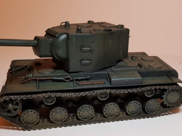 KV-2 (WW2) - View 2 - 1/35 Scale - Built By Wright Built - Tamiya Models
