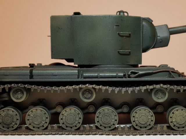 KV-2 (WW2) - View 3 - 1/35 Scale - Built By Wright Built - Tamiya Models