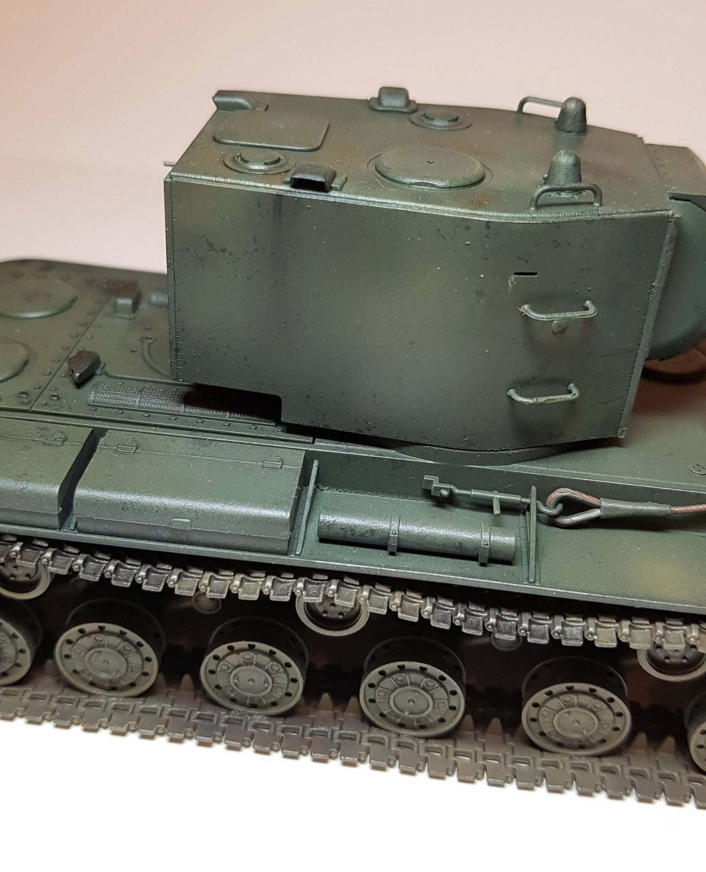 KV-2 (WW2) - View 4 - 1/35 Scale - Built By Wright Built - Tamiya Models
