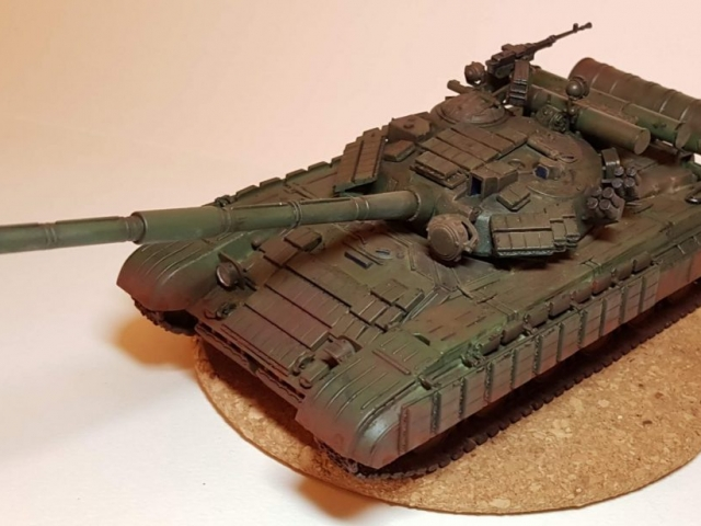 T-64B - View 1 - 1/35 Scale - Built By Wright Built - Skif Models