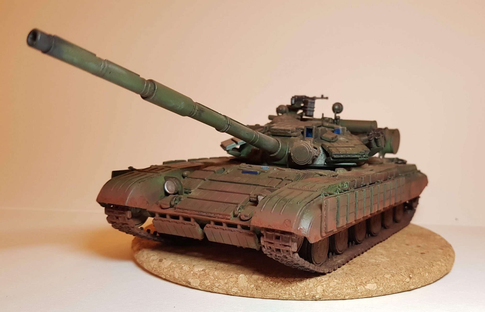 T-64B - View 2 - 1/35 Scale - Built By Wright Built - Skif Models