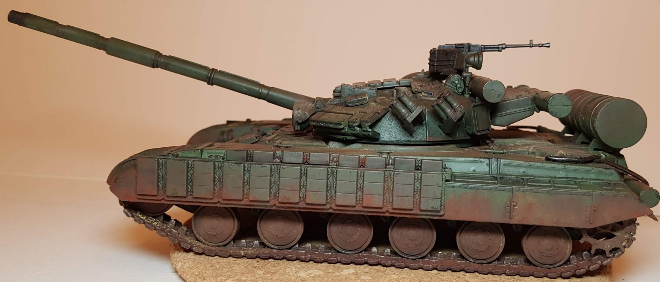 T-64B - View 3 - 1/35 Scale - Built By Wright Built - Skif Models