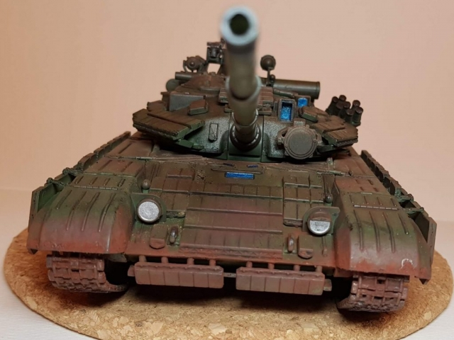 T-64B - View 4 - 1/35 Scale - Built By Wright Built - Skif Models