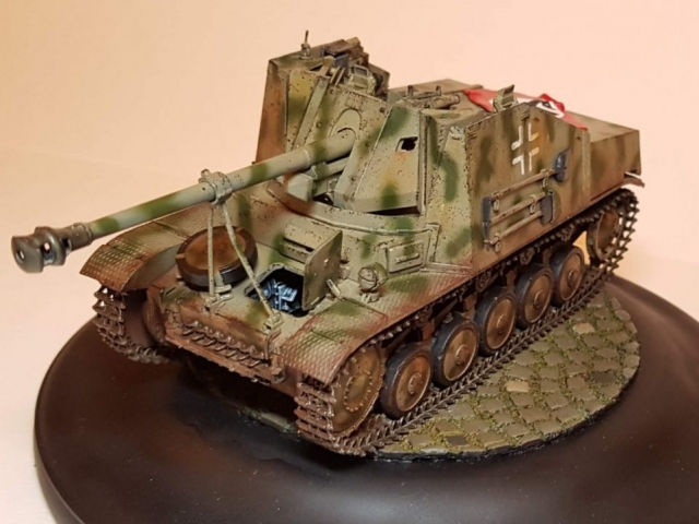 Marder 2 (WW2) - View 1 - 1/35 Scale - Built By Wright Built - Dragon Models