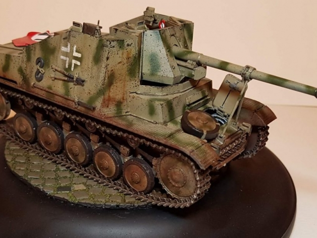 Marder 2 (WW2) - View 2 - 1/35 Scale - Built By Wright Built - Dragon Models