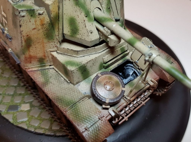 Marder 2 (WW2) - View 3 - 1/35 Scale - Built By Wright Built - Dragon Models