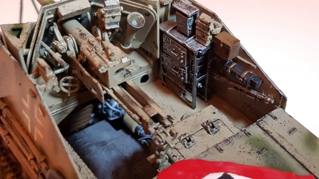 Marder 2 (WW2) - View 5 - 1/35 Scale - Built By Wright Built - Dragon Models