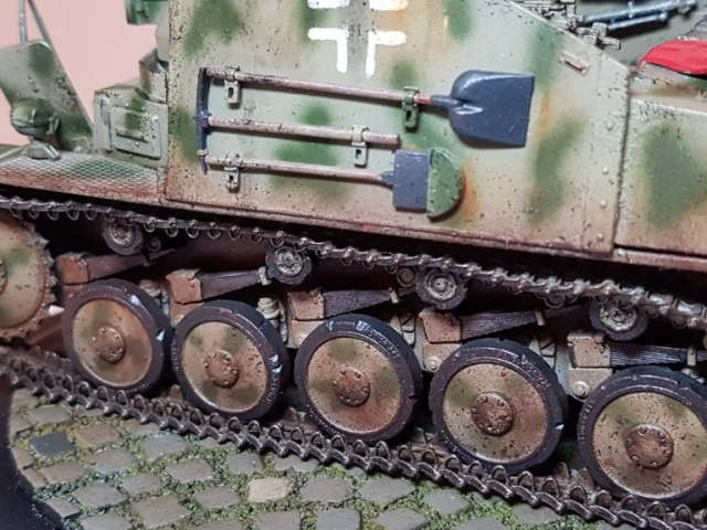 Marder 2 (WW2) - View 7 - 1/35 Scale - Built By Wright Built - Dragon Models