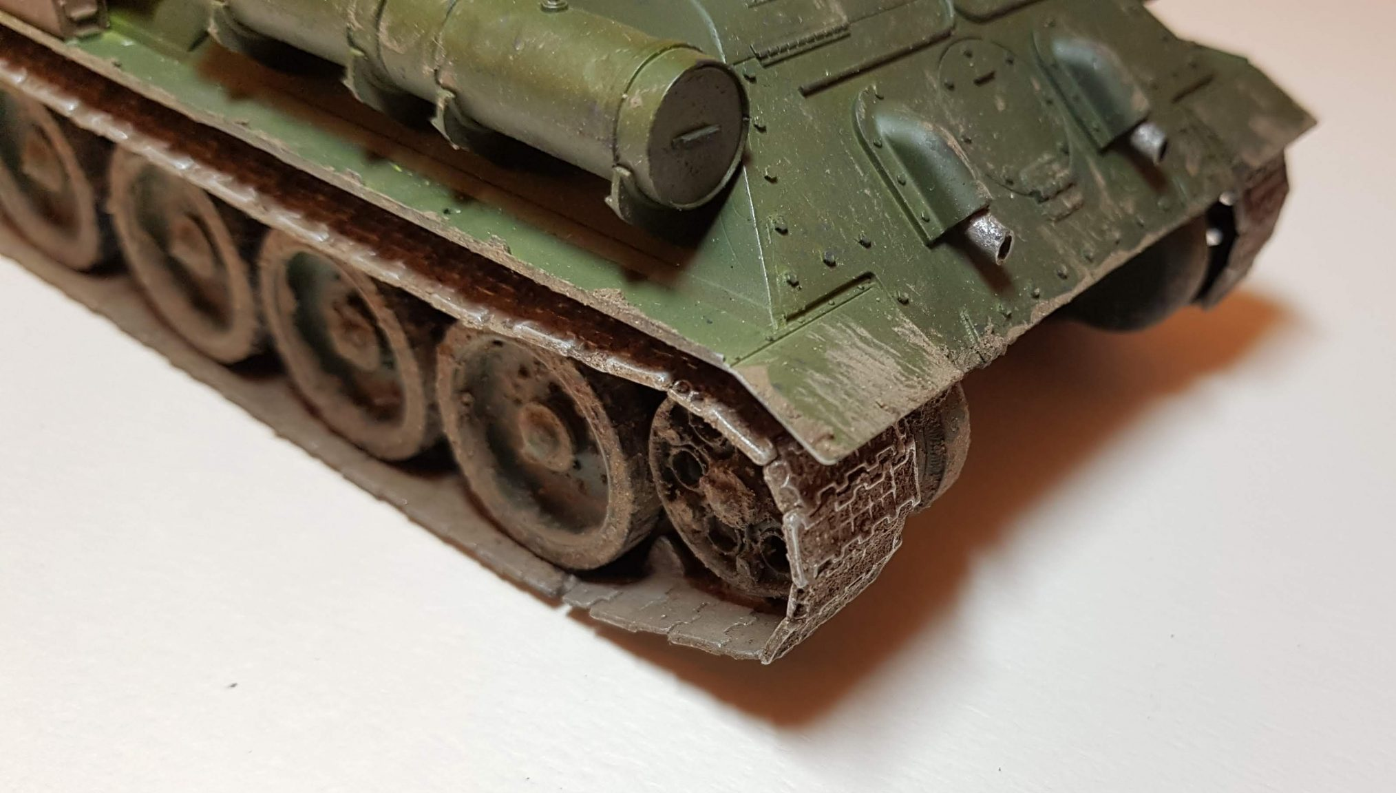 SU-85M - View 4 - 1/35 Scale - Built By Wright Built - Dragon Models