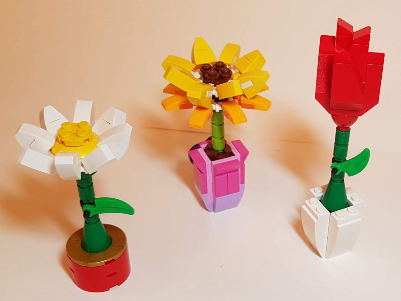 Flowers (LEGO 40187 & 30404) - Built By Wright Built