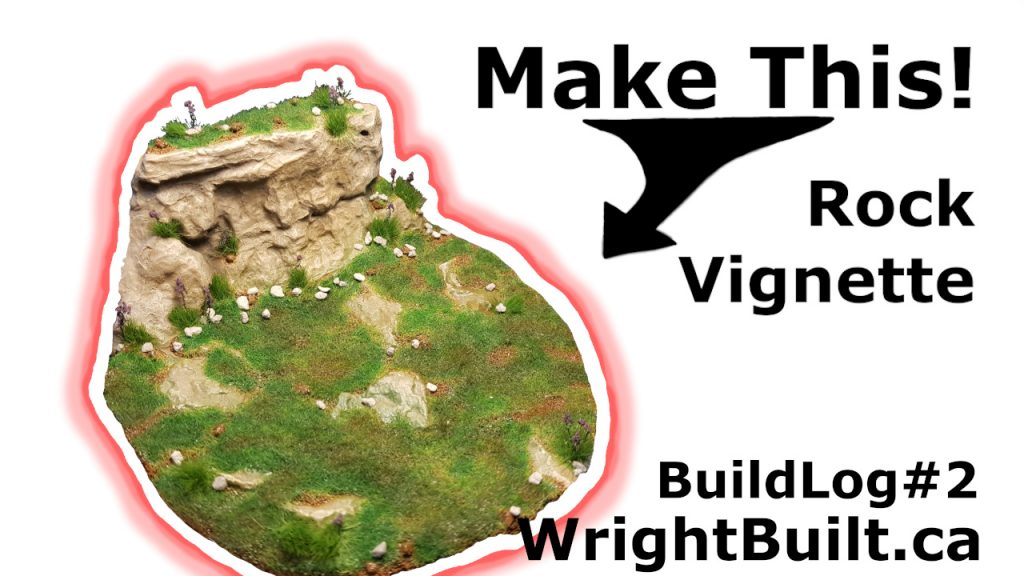 Custom Rock Vignette | 1/35th Scale | BuildLog #2 | WrightBuilt.ca